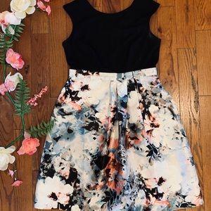 Sangria floral dress size 10 petite